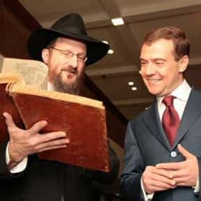 Berel Lazar is listed (or ranked) 11 on the list List of Famous Rabbis