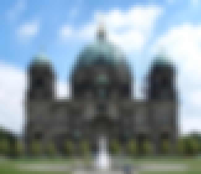 Berlin Cathedral is listed (or ranked) 4 on the list Karl Friedrich Schinkel Architecture