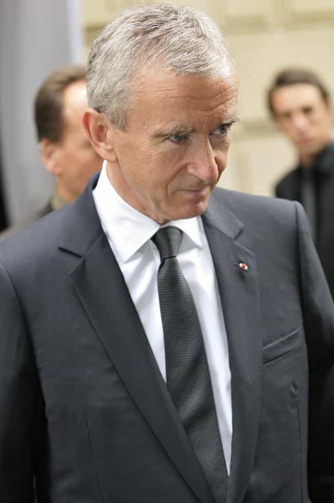 Bernard Arnault is listed (or ranked) 4 on the list Billionaire 2012 List: The Top 100 Billionaires