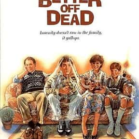 Better Off Dead is listed (or ranked) 23 on the list The Best PG Teen Movies