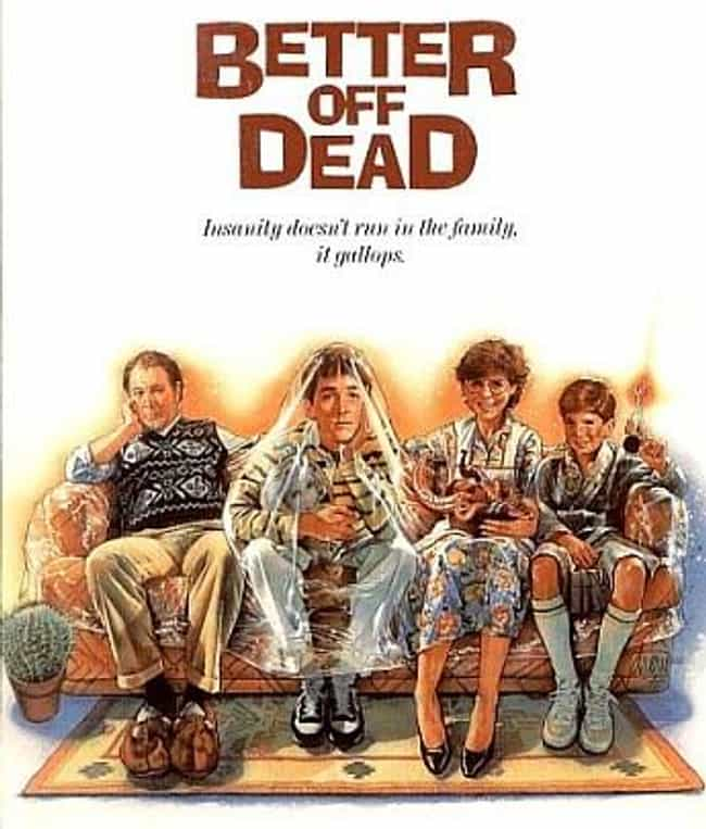 Better Off Dead is listed (or ranked) 1 on the list The Best Diane Franklin Movies