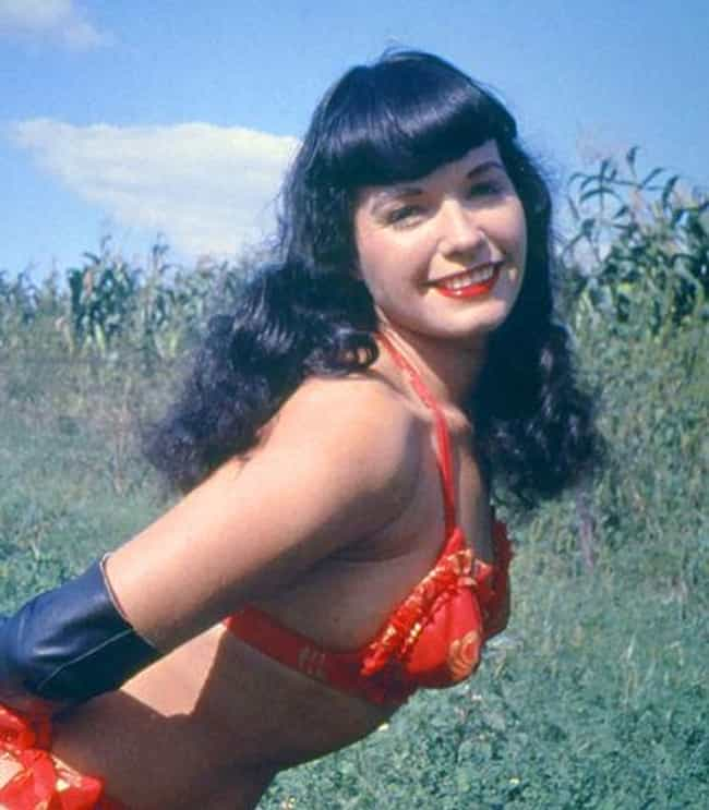 Bettie Page is listed (or ranked) 1 on the list Famous People Born in 1923