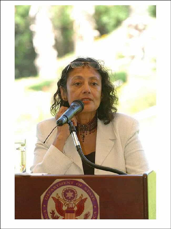Bharati Mukherjee is listed (or ranked) 2 on the list Famous Female University Professors