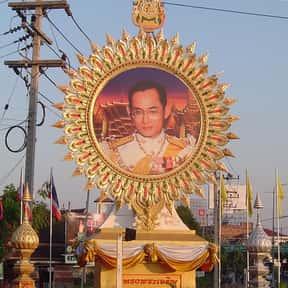 Bhumibol Adulyadej is listed (or ranked) 6 on the list Legion of Merit Winners