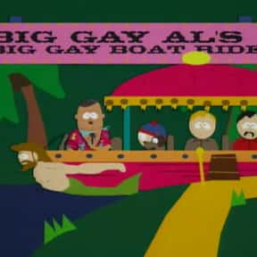 Big Gay Al's Big Gay Boat Ride is listed (or ranked) 9 on the list The Best Episodes From South Park Season 1