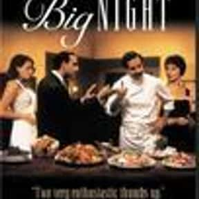 Big Night is listed (or ranked) 11 on the list The Best Movies About Cooking