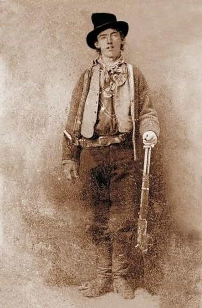 Billy the Kid is listed (or ranked) 3 on the list List of Famous Cowboys