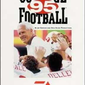 Bill Walsh College Football '9 is listed (or ranked) 23 on the list The Best American Football Games of All Time