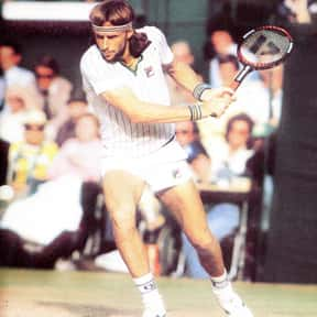 Björn Borg is listed (or ranked) 7 on the list The Greatest Male Tennis Players of the Open Era