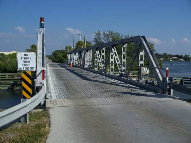Blackburn Point Bridge is listed (or ranked) 4 on the list Bridges in Florida