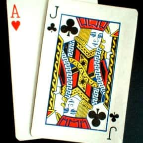 Blackjack is listed (or ranked) 5 on the list The Most Popular & Fun Card Games