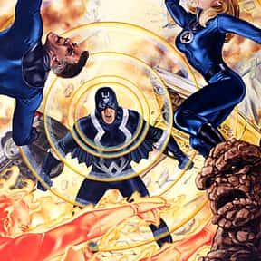 Black Bolt is listed (or ranked) 13 on the list Special Operations Heroes from Marvel Avengers Alliance