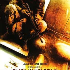 Black Hawk Down is listed (or ranked) 1 on the list The Greatest Army Movies Ever Made