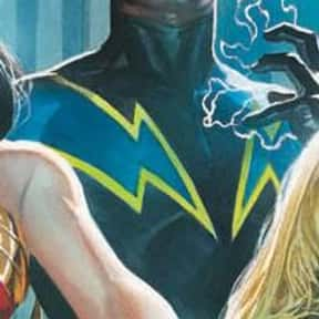 Black Lightning is listed (or ranked) 23 on the list The Best Members of the Justice League and JLA