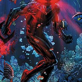 Black Manta is listed (or ranked) 19 on the list The Greatest Villains In DC Comics, Ranked