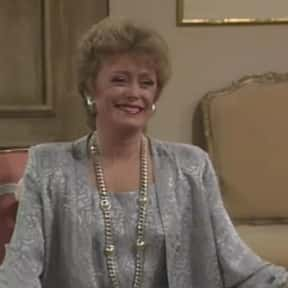 Blanche Devereaux is listed (or ranked) 16 on the list The Greatest Perpetually Single Women in TV History