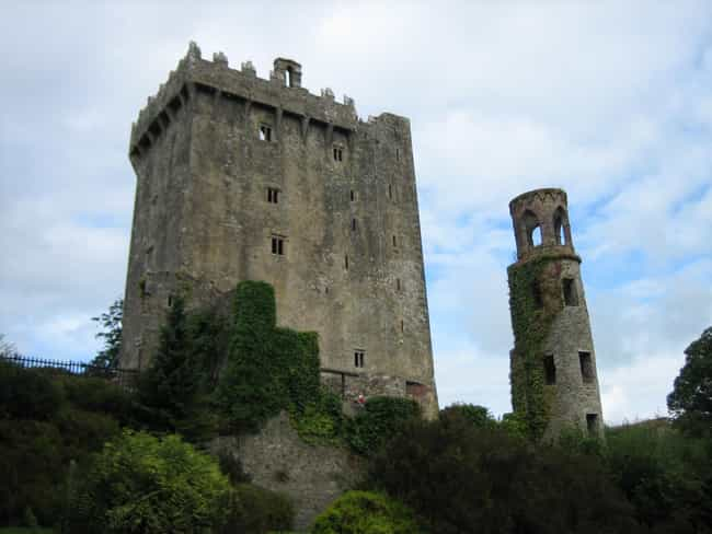 Blarney Castle is listed (or ranked) 7 on the list The Most Beautiful Castles in Ireland