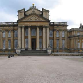 Blenheim Palace is listed (or ranked) 11 on the list Famous Baroque Architecture Buildings