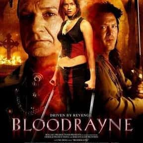 BloodRayne is listed (or ranked) 12 on the list The Best Movies About Female Vampires