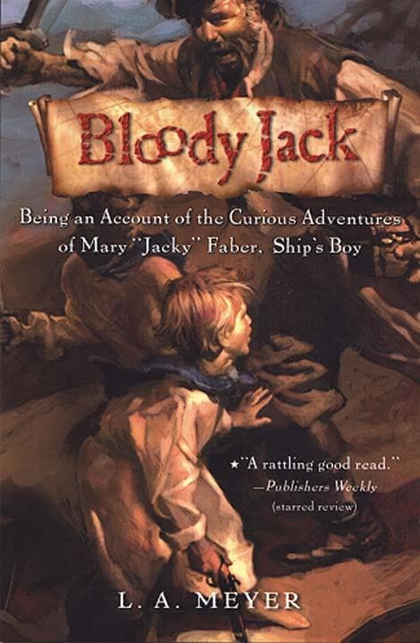 Bloody Jack on Random Best Young Adult Fiction Series