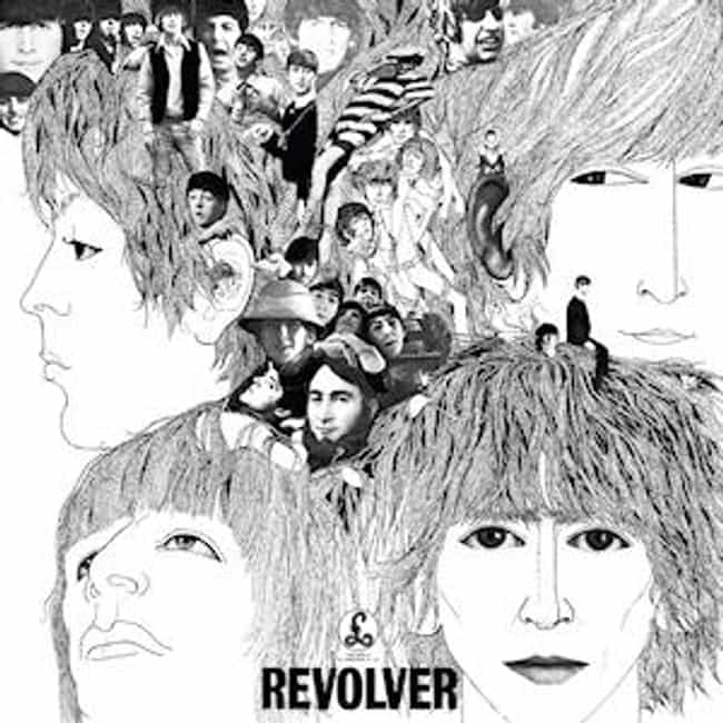 Revolver is listed (or ranked) 8 on the list The Greatest Album Covers of All Time