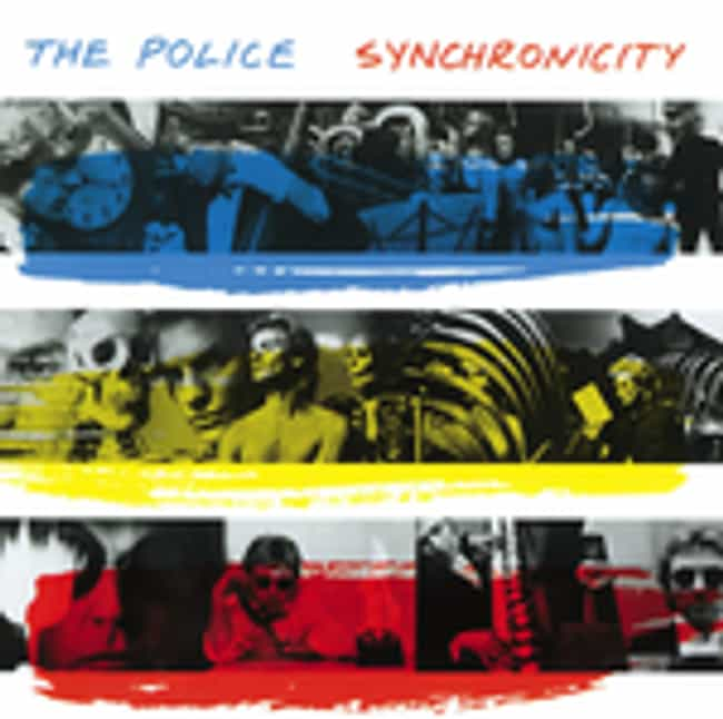 Synchronicity is listed (or ranked) 3 on the list The Best Police Albums of All Time