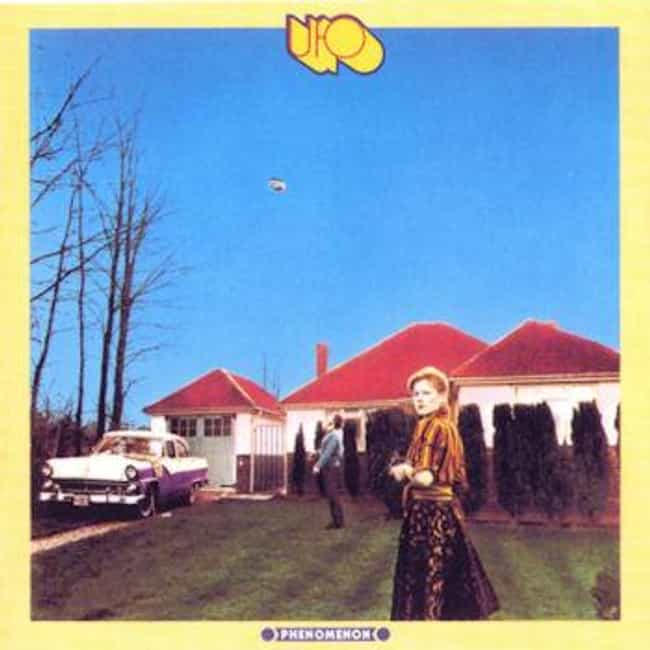 Phenomenon is listed (or ranked) 2 on the list The Best UFO Albums of All Time