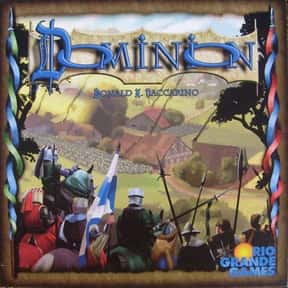 Dominion is listed (or ranked) 5 on the list The Best Board Games of All Time