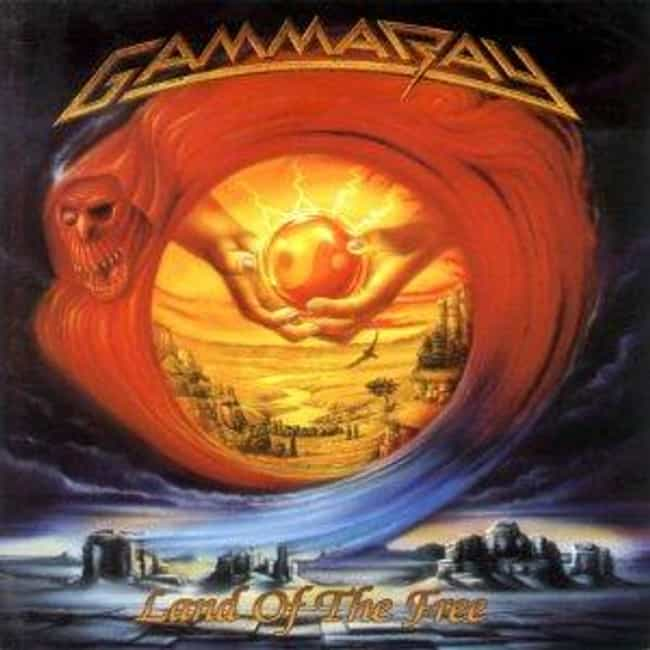 Land of the Free is listed (or ranked) 1 on the list The Best Gamma Ray Albums of All Time