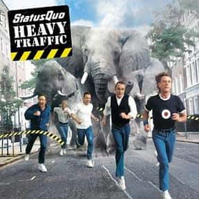 Heavy Traffic is listed (or ranked) 19 on the list The Best Status Quo Albums of All Time