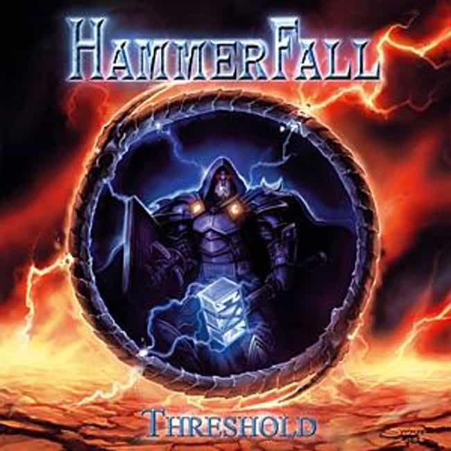 Threshold is listed (or ranked) 8 on the list The Best HammerFall Albums of All Time