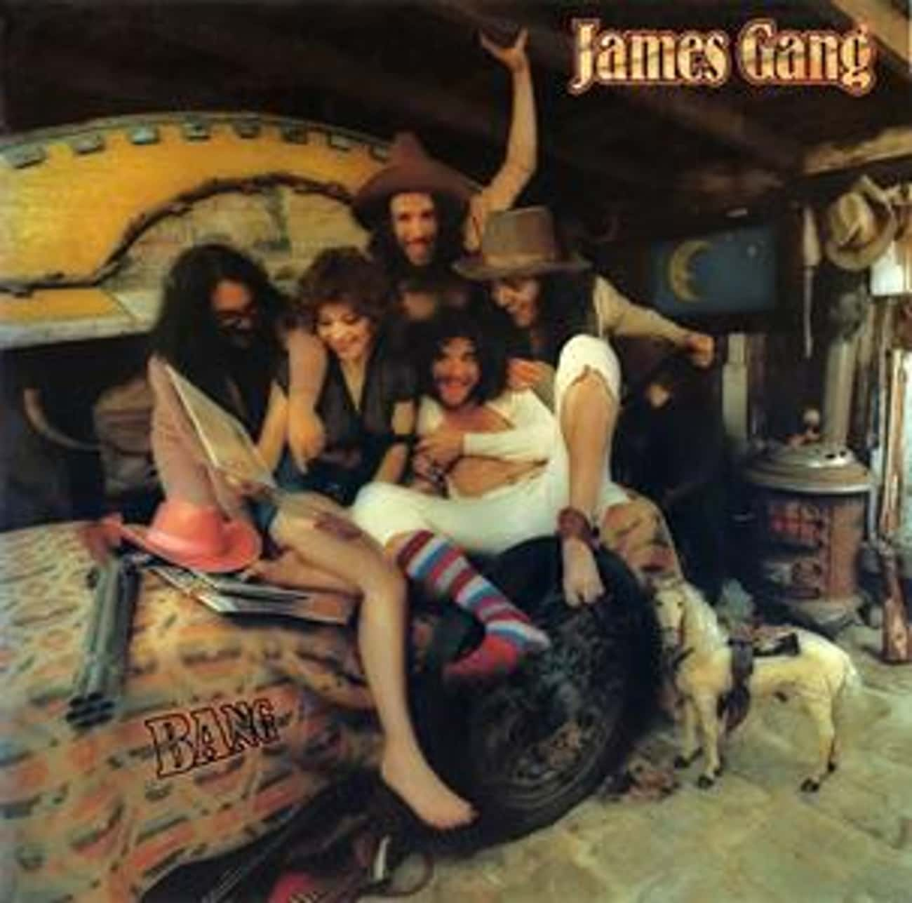 Bang is listed (or ranked) 2 on the list The Best James Gang Albums of All Time