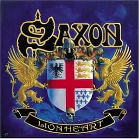 Lionheart is listed (or ranked) 5 on the list The Best Saxon Albums of All Time