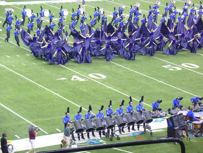 Blue Devils Drum and Bugle Cor... is listed (or ranked) 1 on the list The Best Marching Bands