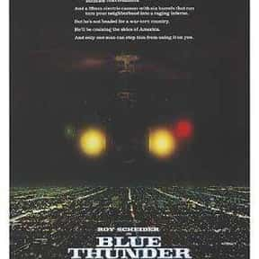 Blue Thunder is listed (or ranked) 18 on the list The Best Movies of 1983