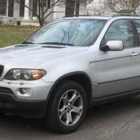 BMW X5 is listed (or ranked) 20 on the list The Best Car Values