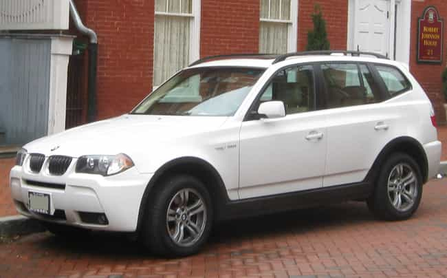 BMW X3 is listed (or ranked) 2 on the list Full List of BMW Models