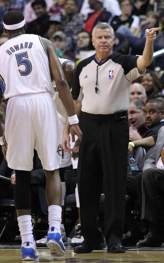Bob Delaney is listed (or ranked) 3 on the list List of Famous NBA Referees