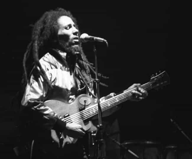 Bob Marley is listed (or ranked) 4 on the list Famous People You Didn't Know Were Rastafarian
