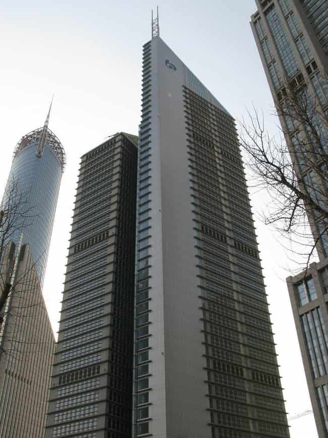Bocom Financial Towers is listed (or ranked) 2 on the list List of Famous Pudong Buildings & Structures
