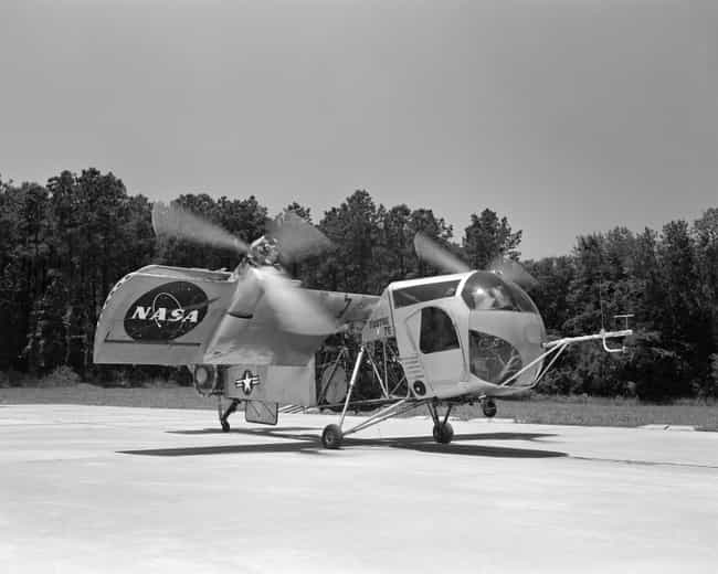 Vertol VZ-2 is listed (or ranked) 4 on the list Planes Used By NASA