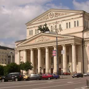 Bolshoi Theatre, Moscow is listed (or ranked) 17 on the list The Top Must-See Destinations in Russia