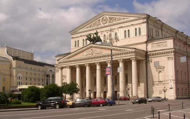 Bolshoi Theatre, Moscow ... is listed (or ranked) 3 on the list List of Famous Moscow Buildings & Structures