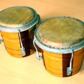 Bongo drum is listed (or ranked) 5 on the list Instruments in the Percussion Family
