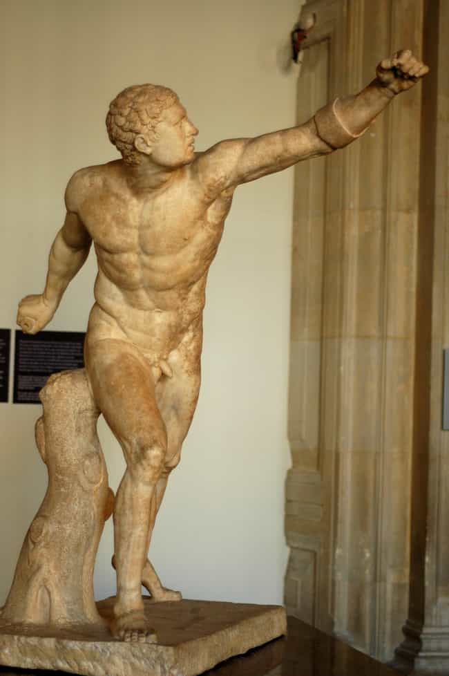 Borghese Gladiator is listed (or ranked) 2 on the list Famous Hellenistic Art Sculptures