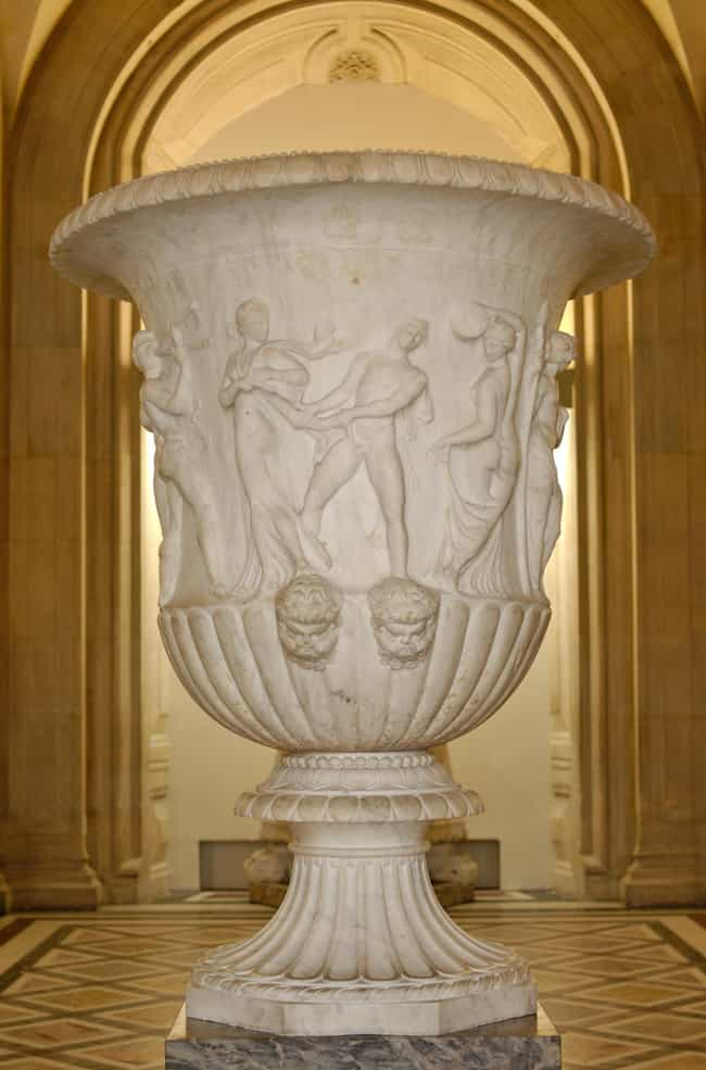 Borghese Vase is listed (or ranked) 3 on the list Famous Hellenistic Art Sculptures