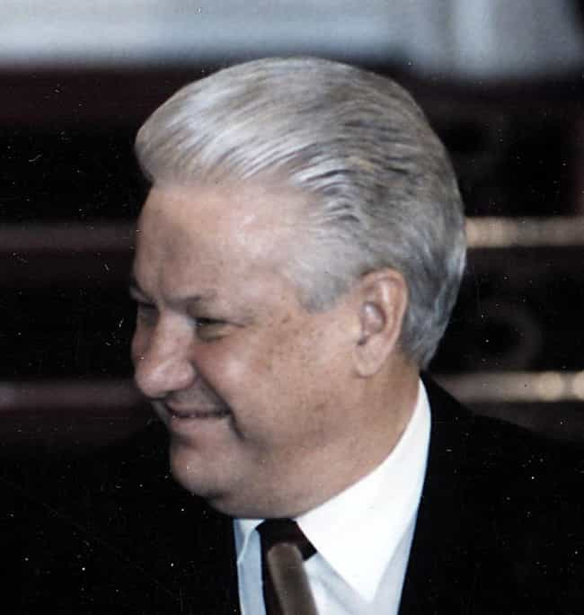 Boris Yeltsin is listed (or ranked) 3 on the list 12 Famous People Who Made History While Being Totally Hammered