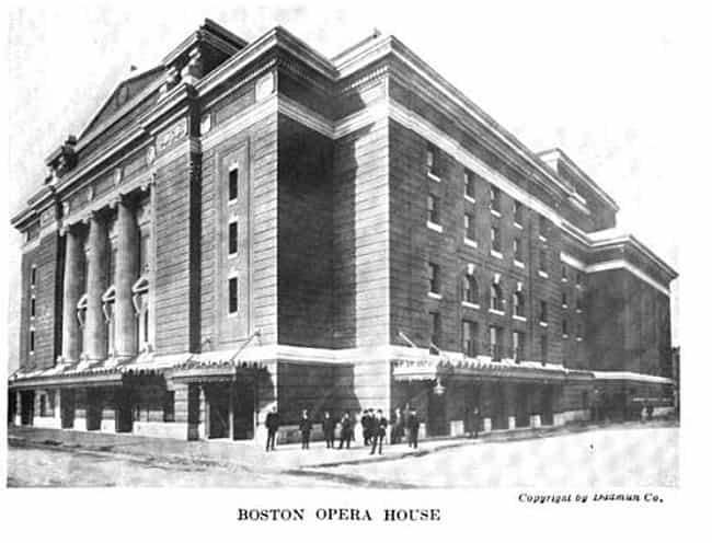 Boston Opera House is listed (or ranked) 1 on the list List of Thomas W. Lamb Architecture