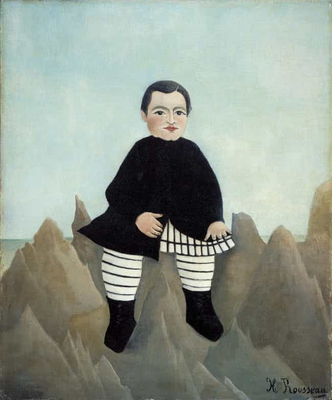 Boy on the Rocks is listed (or ranked) 1 on the list Famous Henri Rousseau Paintings