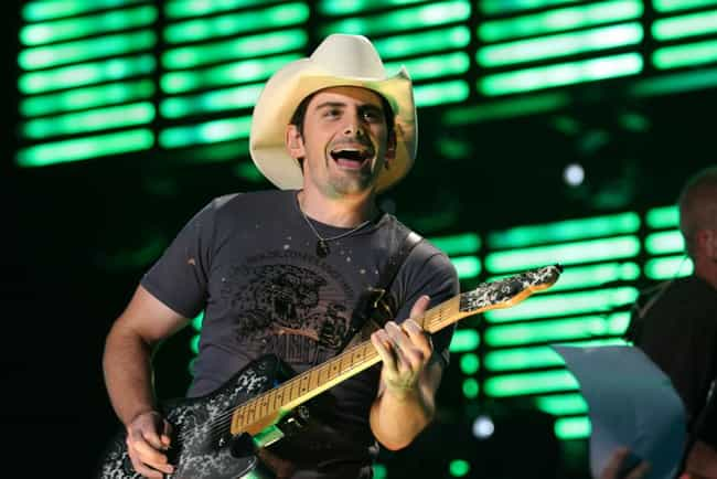 Brad Paisley is listed (or ranked) 2 on the list Famous People who Majored in Music